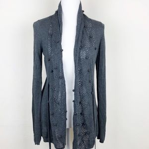 Anthropologie Knitted & Knotted Kose Cardigan